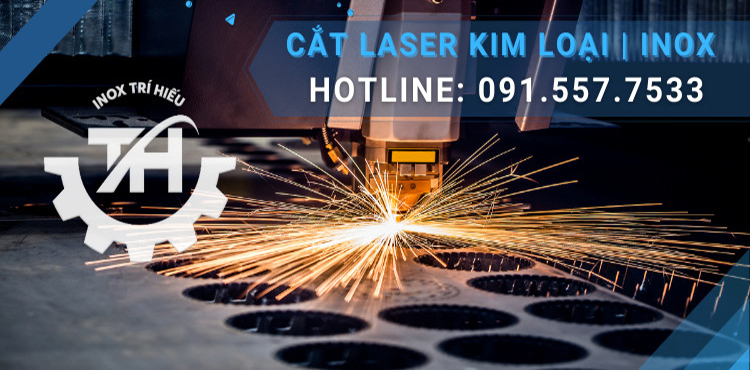 cắt laser kim loại, inox