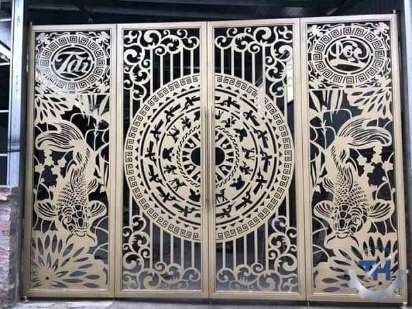 cửa sắt cắt CNC kim loại (4)